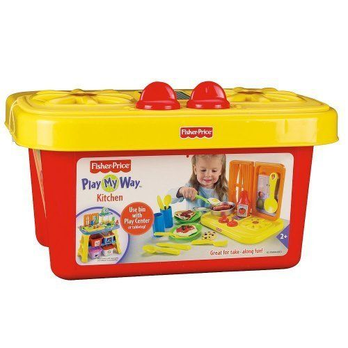 Fisher Price Role Play Center Kitchen Bin By Fisher Price Fisher Price Toys Cook Up
