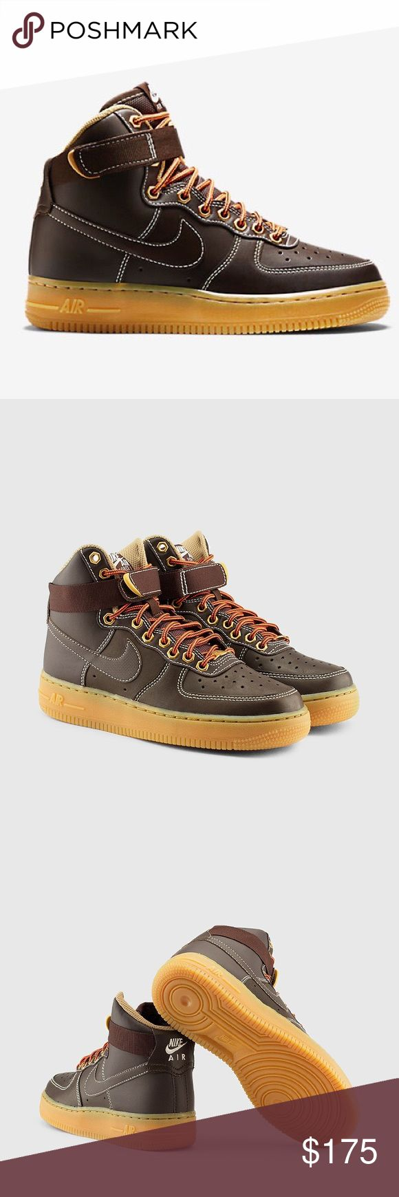 NIKE AIR FORCE 1 HIGH WOMENS SIZE 8 SHOES Shoes are a size 6.5 youth. Which is a women's size 8. I posted a sizing chart for your convenience. Brand new without box. 100% authentic Nike Shoes Sneakers