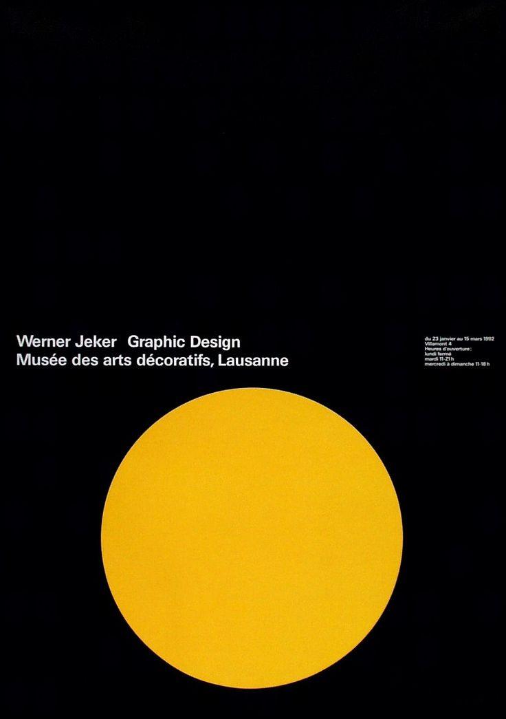 Werner Jeker, Werner Jeker, Graphic Design - Musée des arts décoratifs, Lausanne