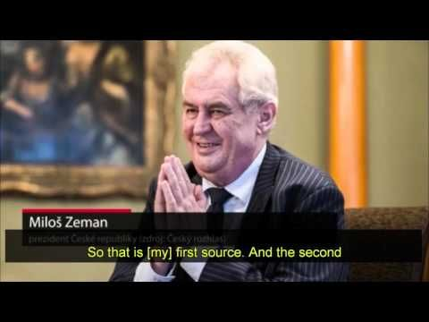 """Czech President says that the terrorism-supporting Muslim Brotherhood is behind the 'manufactured' refugee crisis...Czech President says that the terrorism-supporting Muslim Brotherhood is behind the 'manufactured' refugee crisis Czech President Miloš Zeman says these so-called """"Syrian refugees"""" were created and financed by the extremely well-funded, petrodollars-laden Islamic supremacists (along with George Soros) under the guise of the UN's Organization of Islamic Cooperation (OIC)…"""