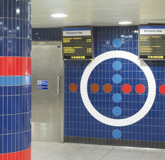 Craven Dunnill Jackfield - Oxford Circus Station