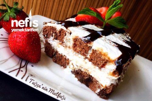Muhteşem Şipşak Pasta (20 Dakikada Hazır) Tarifi