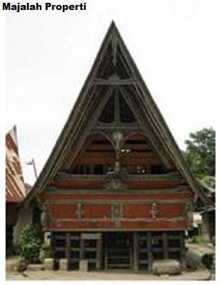 Desain Bentuk Rumah Adat Batak Toba dan Penjelasannya - Rumah dan Perumahan