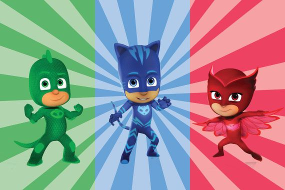 Hey, I found this really awesome Etsy listing at https://www.etsy.com/listing/457055984/pj-masks-backdrop-instant-download