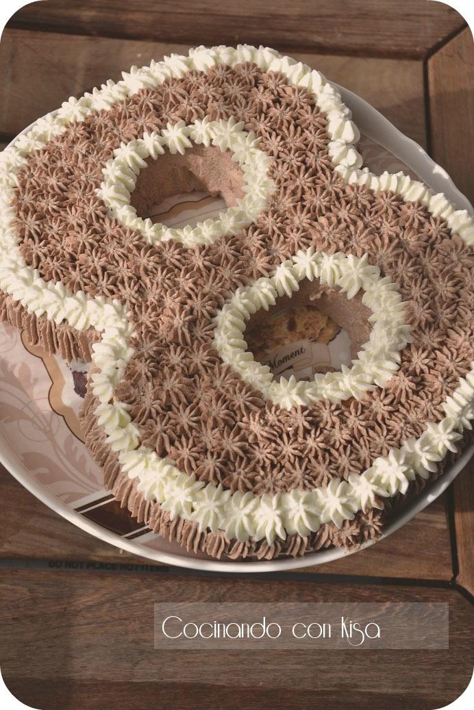 Cocinando con kisa tarta n mero 8 de l ku de nata y for Cocinando con kisa