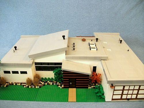brilliant custom house lego houses pinterest models. Black Bedroom Furniture Sets. Home Design Ideas