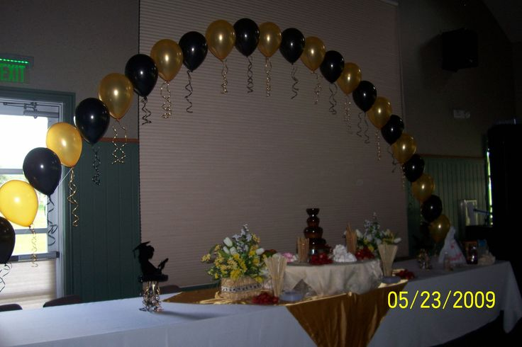 Graduation party decorations bing images graduation for Balloon decoration ideas for graduation