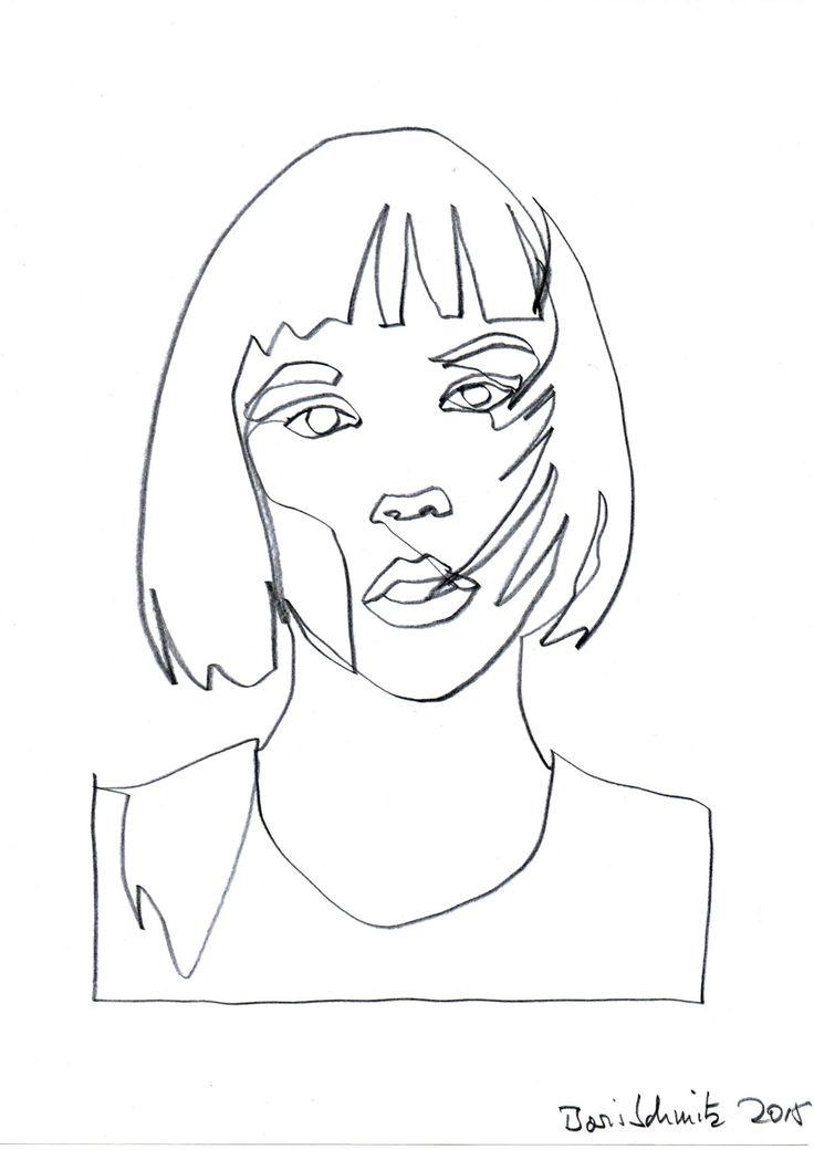 Die besten 25 potrait zeichnen ideen auf pinterest for Art of minimal boris