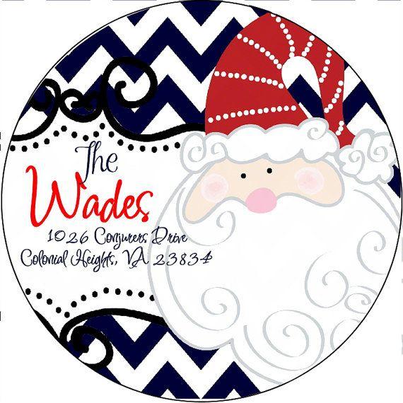 Cheap Christmas Address Labels