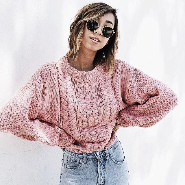 Best 25  Pink sweater ideas on Pinterest | Pink jumper, Pastel ...