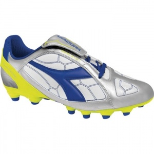 Diadora DD-Eleven R MG 14 Soccer Cleats Mens Silver Synthetic - ONLY $54.95