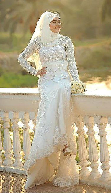 Hijab Wedding Gown - Ahmed Rajeep Photography
