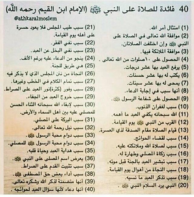 فضائل الصلاة علي النبي ص ل الله عليه وسلم Islam Personalized Items Allah