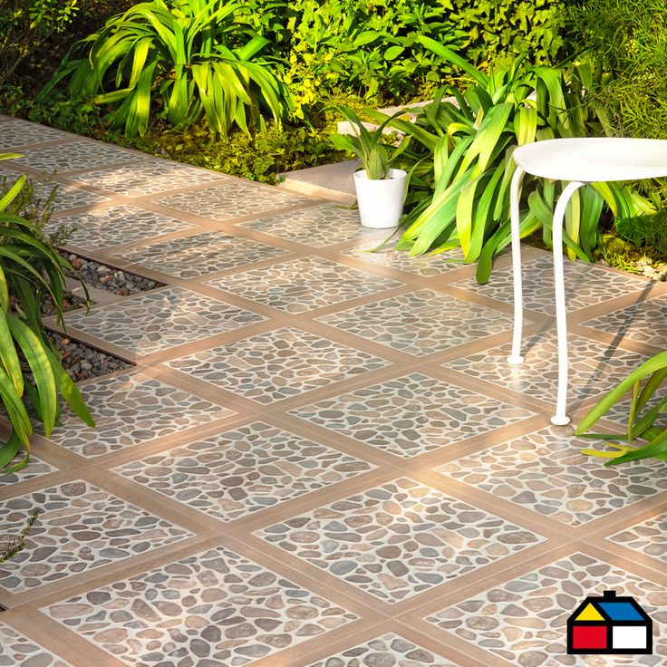 Pisos cer mica woodriver patio terraza homecenter for Columpio de terraza homecenter