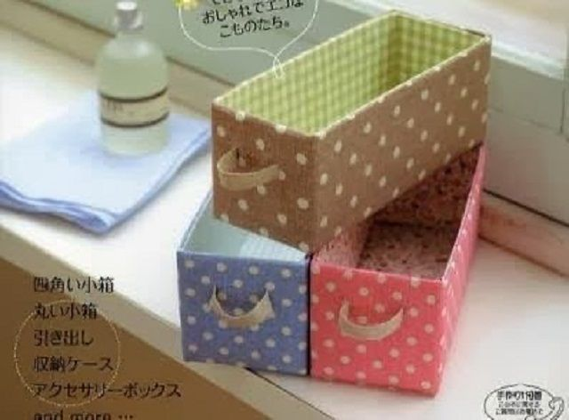 recycle shoe boxes creatively 2