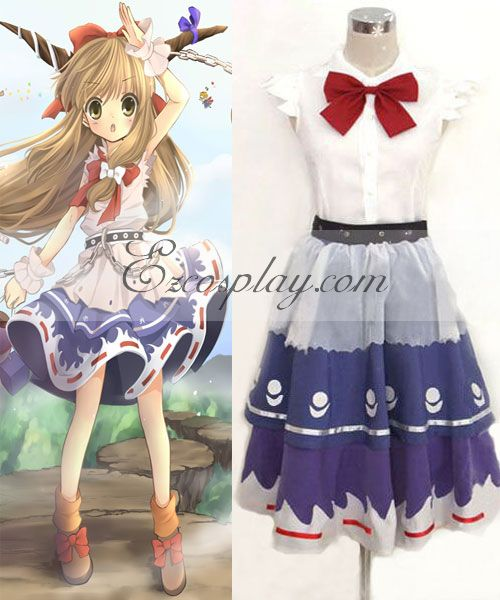 Touhou Project Ibuki Suika cosplay costume #Everyone Can Cosplay! Cosplay costumes #Anime Cosplay Accessories #Cosplay Wigs #Anime Cosplay masks #Anime Cosplay makeup #Sexy costumes #Cosplay Costumes for Sale #Cosplay Costume Stores #Naruto Cosplay Costume #Final Fantasy Cosplay #buy cosplay #video game costumes #naruto costumes #halloween costumes #bleach costumes #anime