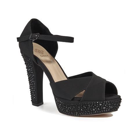 Kadın Abiye Ayakkabı Siyah - DESA