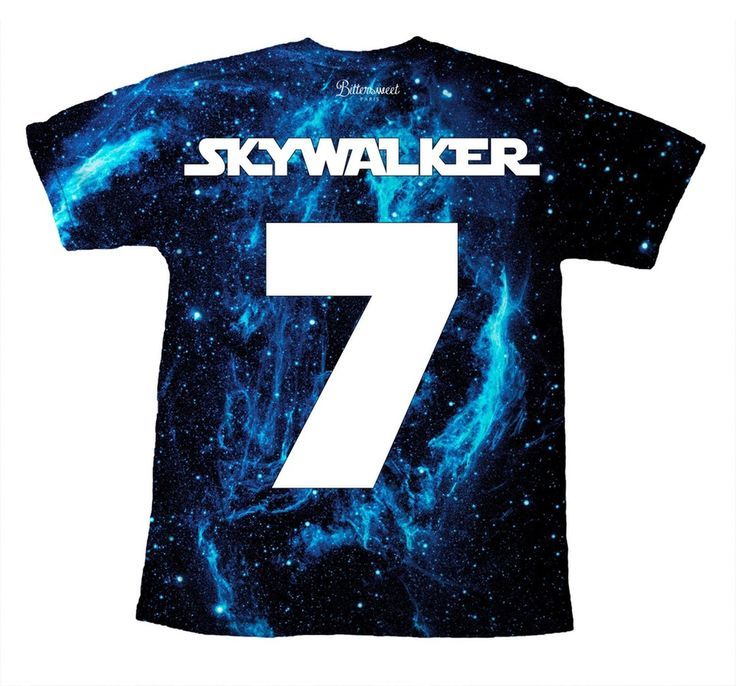 Skywalker Team t-shirt!  http://www.bittersweetparis.fr/product/skywalker-team-tshirt