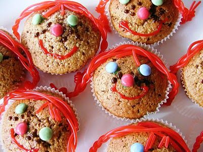 What a great idea for #Pippi Longstocking muffins! To Do!