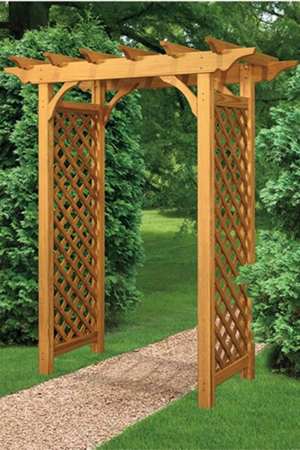50 Beautiful Diy Garden Arbor Ideas You Can Build To Complete Your