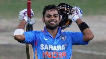 What a hundred from Virat.