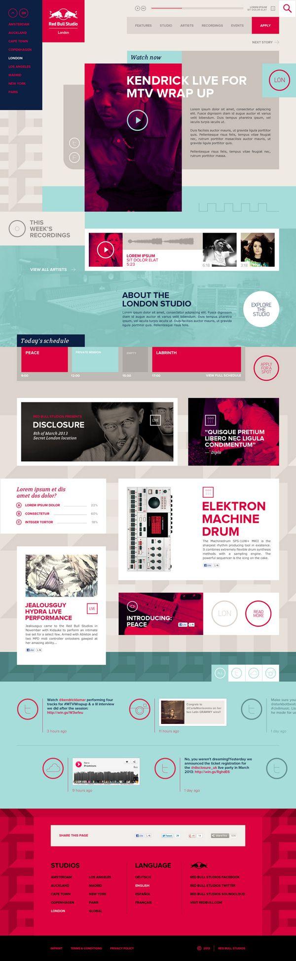 33 best Webdesign images on Pinterest | Design web, Design websites ...