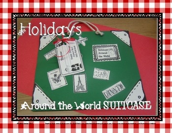 Suitcase for Holidays Around the World $$