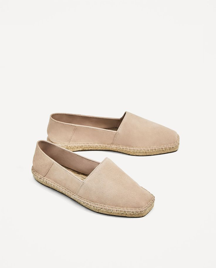 Image 1 of LEATHER ESPADRILLES from Zara