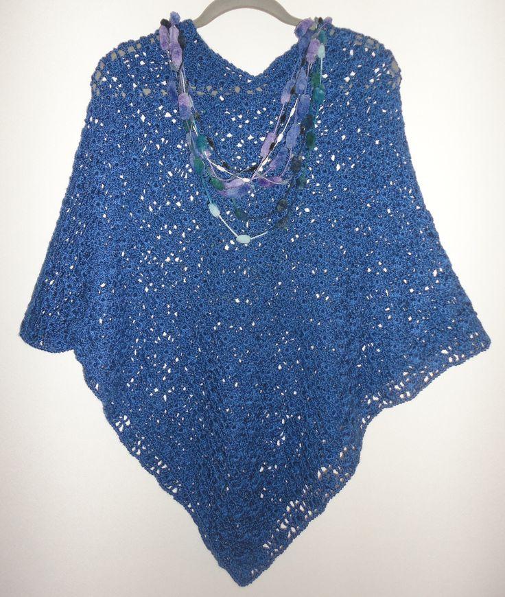 Poncho crochet Talla única $15.000