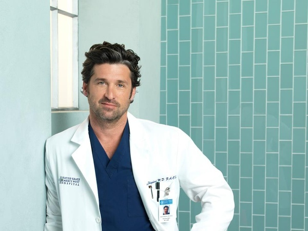 Greys Anatomy - McDreamy  my Dr.s never look like this..well, i had one that was pretty cute but not like this  lol