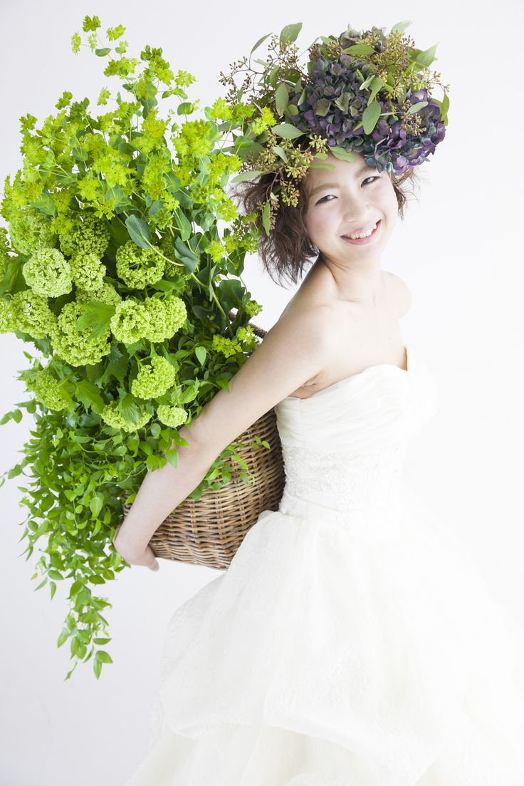 ウェディング用花冠