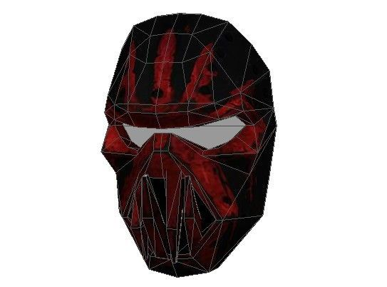 Warface - Skeleton Mask Papercraft Free Template Download - http://www.papercraftsquare.com/warface-skeleton-mask-papercraft-free-template-download.html#Mask, #Skeleton, #WarFace