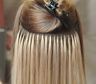 Add Extensions to Short Hair | Risks: These extensions do not damage your natural hair. The keratin ...