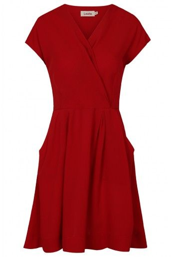 Louche Zola Wrap Front Dress