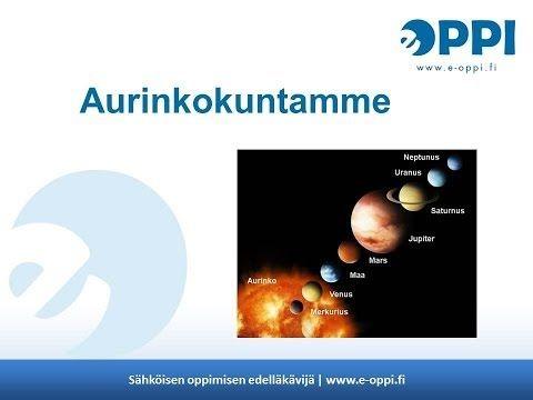 Tässä opetusanimaatiossa havainnollistetaan Maan ja Kuun liikkeitä. Animaatio koostuu kolmesta osasta: 1) Maa pyörii akselinsa ympäri, 2) Kuu kiertää maapall...
