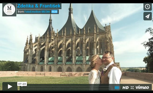 Sleva na svatební video - 30% . Akce platí pouze na únor!!! - FotoEmotion