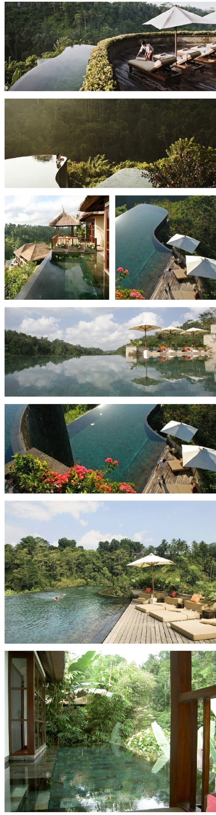 25 best ideas about ubud hanging gardens on pinterest for Hanging garden pool ubud