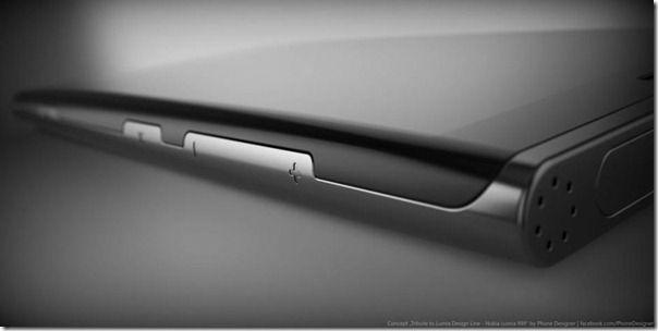 Nokia Lumia 999 Design Concept Black Beauty Phone