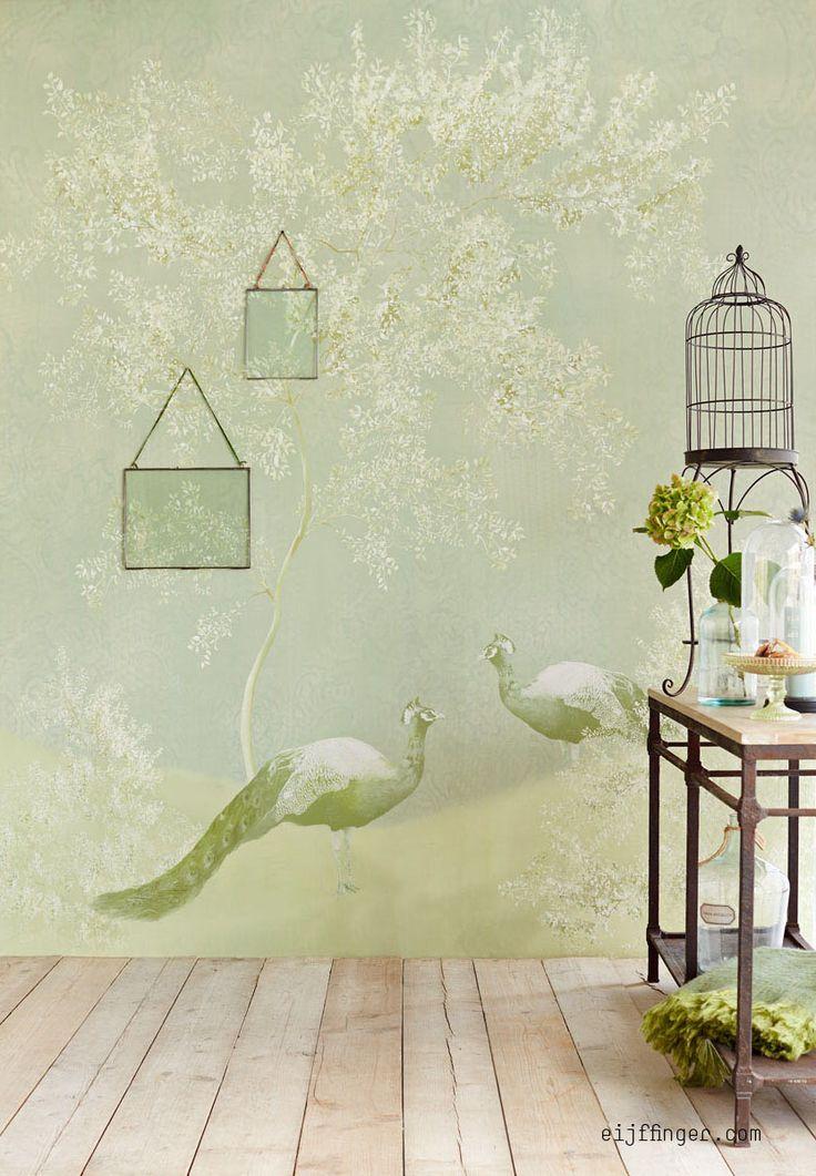 17 beste idee n over goud behang op pinterest muurschilderingen zilver behang en wit behang - Behang van de jaren ...