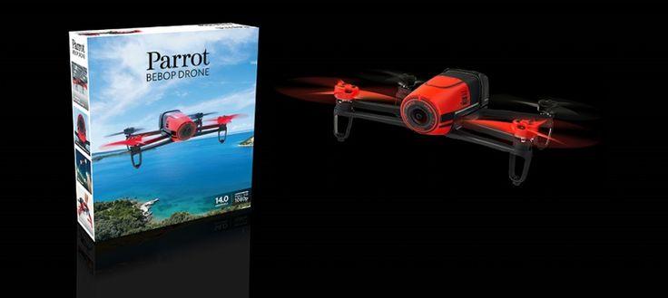 Parrot Bebop Dron Red - Obchod s drony