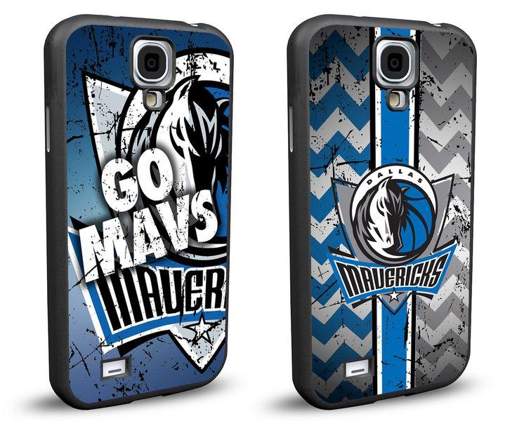 Dallas Mavericks Cell Phone Hard Case TWO PACK for Samsung Galaxy S5, Samsung Galaxy S4 or Samsung Galaxy S4 Mini
