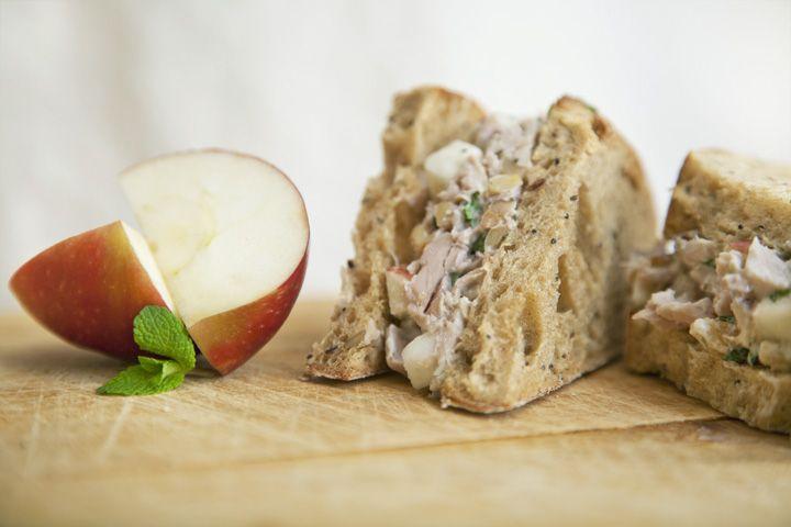 Sandwich gourmet à la dinde #recettesduqc #lunch #sandwich #dinde