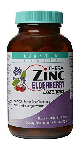 Quantum Health was the very first company to market zinc lozenges following the publication of a study in the Journal of Antimicrobial Medicine. Quantum also pioneered the introduction of elderberry products after the first studies arrived. Since then, other studies have increased the popularity... more details at http://supplements.occupationalhealthandsafetyprofessionals.com/herbal-supplements/elderberry/product-review-for-quantum-health-thera-zinc-lozenges-elderberry-60-co