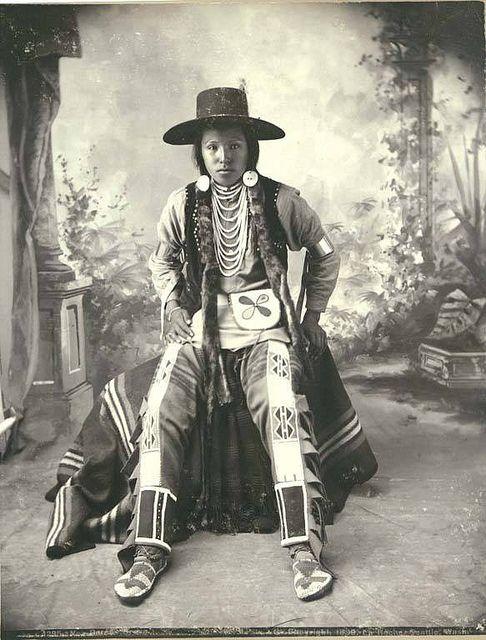 Nez Perce Indian, Washington, 1899