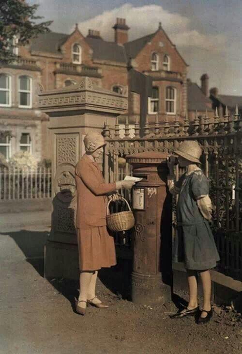 Post Box England '20-'30's