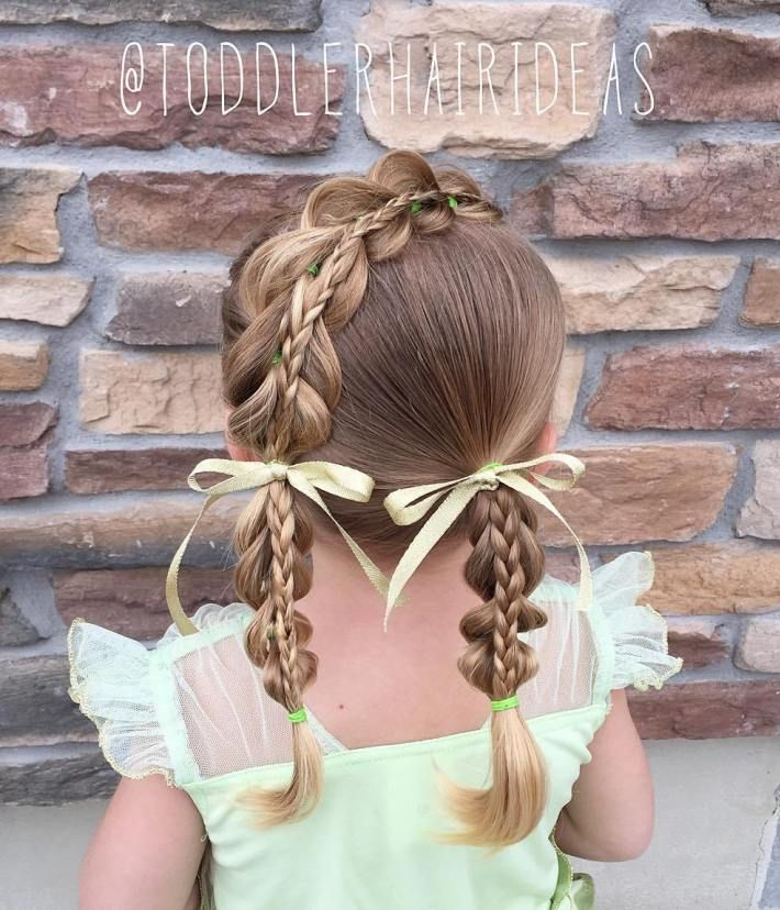Girl Hairstyles 52 Best Little Girl Hairstyles Images On Pinterest  Girls Hairdos