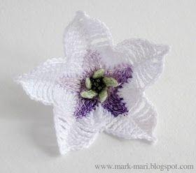 оброе утро, дорогие рукодельницы! Вязаная азбука сегодня пополняется пятым цветочком :-) Д - Дурман http://mark-mari.blogspot.r...