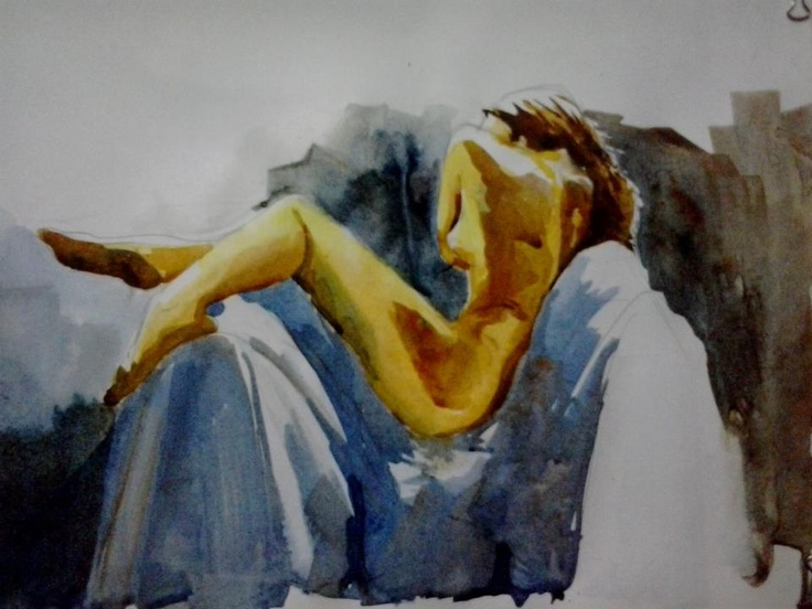 water colour on paper