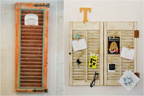3 ideas DIY para reutilizar persianas antiguas y decorar tu casa