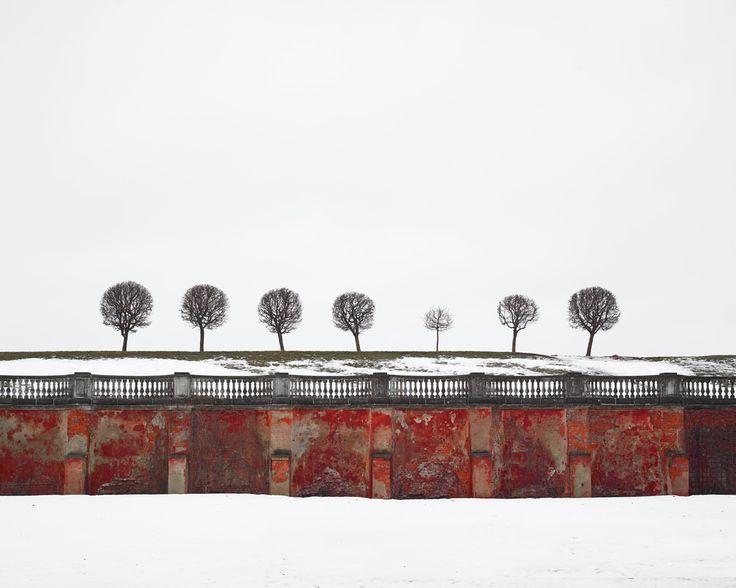 Red Wall, Peterhof, Russia, 2015